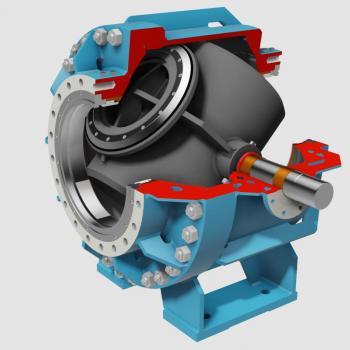 Spherical turbine inlet valves - type SPV-2P-M
